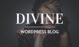Divine - WordPress Blog Theme