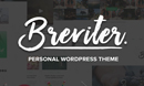 Breviter Pro - Handcrafted Blog WordPress Theme
