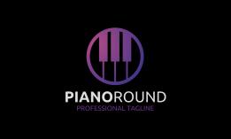 Piano Round Logo