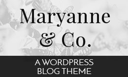 Maryanne WordPress Blog Theme