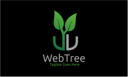 Web Tree - Letter W Logo