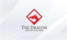 The Dragon V.2 Logo