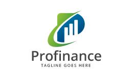 Profinance - Letter P Logo