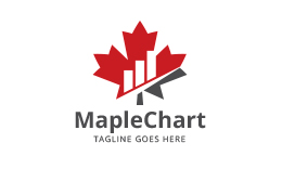 Maple Chart - Financial Logo