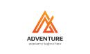 Adventure Letter A Logo