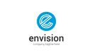 Envision Letter E Logo