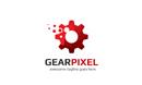 Gear Pixel Logo