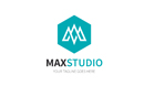 Max Studio Letter M Logo