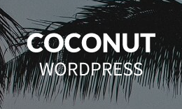 Coconut - Clean WordPress Theme