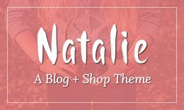 Natalie - A WordPress Blog Theme