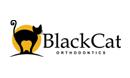 Black Cat - Dentist Logo