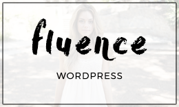 Fluence - WordPress Theme for Bloggers
