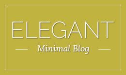 Elegant - Simple and Minimal WordPress Blog