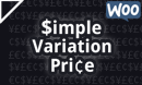 Simple Variation Price for WooCommerce Plugin