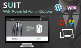Suit – WordPress WooCommerce Theme
