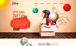 Kids Play - Kindergarten WordPress Theme