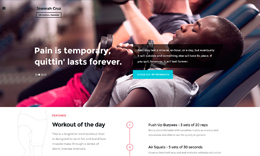 In Shape - Fitness WordPress Theme