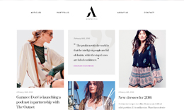 Aesthetic - Fashion Blog WordPress Theme