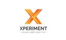 Xperiment X Letter Logo