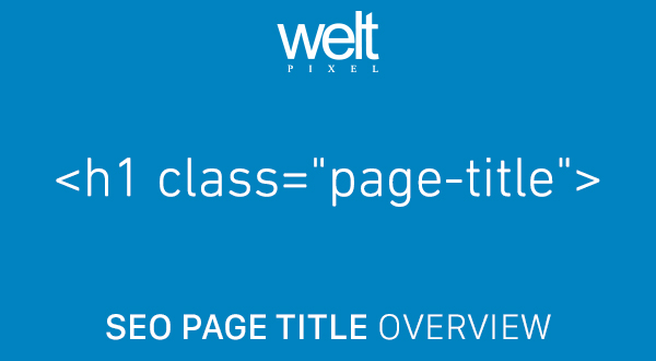 SEO Page Title Overwrite For Magento 2