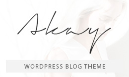 Akay - A WordPress Blog Theme