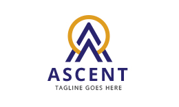Ascent - Letter A Logo