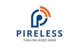 Letter P - Signal Logo