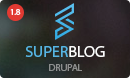 Super Blog Drupal Theme