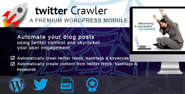 Twitter Content Crawler
