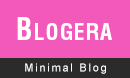 Blogera Clean And Minimal Blogging Theme for WordPress