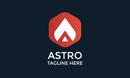 Astro A Letter Logo