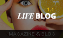 LifeBlog - Magazine WordPress Theme
