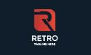Retro R Letter Logo