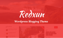 Redxun - WordPress Blogging Theme
