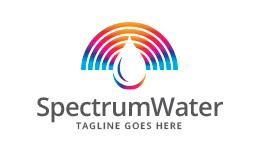 Spectrum Water Droplet Logo