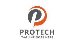 Protech - Letter P logo