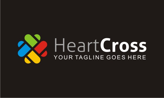 Heart Cross Logo