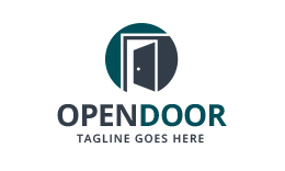 Open Door - Real Estate Logo